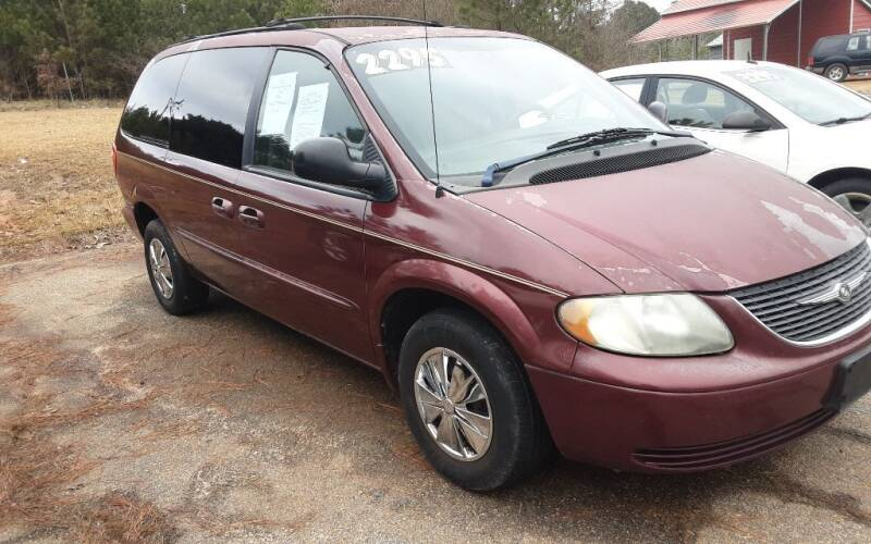 2002 Chrysler Town and Country for sale at Mathews Used Cars, Inc. in Crawford GA