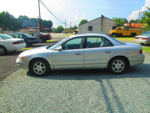 2001 Buick Regal for sale at Wright's Auto Sales in Lancaster SC