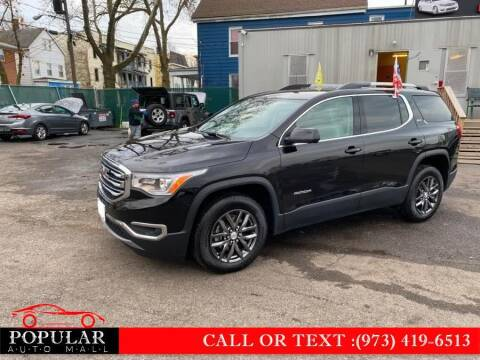 2019 GMC Acadia for sale at Popular Auto Mall Inc in Newark NJ