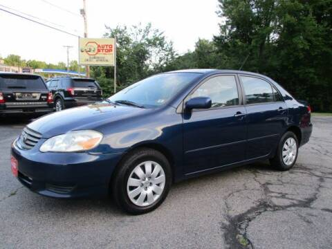 2004 Toyota Corolla for sale at AUTO STOP INC. in Pelham NH