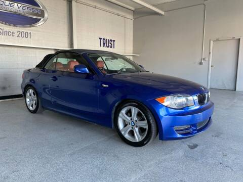 2011 BMW 1 Series for sale at TANQUE VERDE MOTORS in Tucson AZ