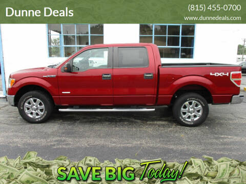 2013 Ford F-150 for sale at Dunne Deals in Crystal Lake IL