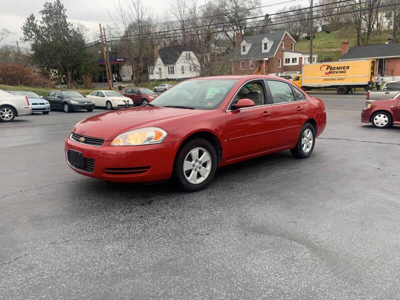 2007 Chevrolet Impala for sale at KP'S Cars in Staunton VA