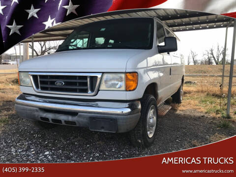 2006 Ford E-Series Wagon for sale at Americas Trucks in Jones OK