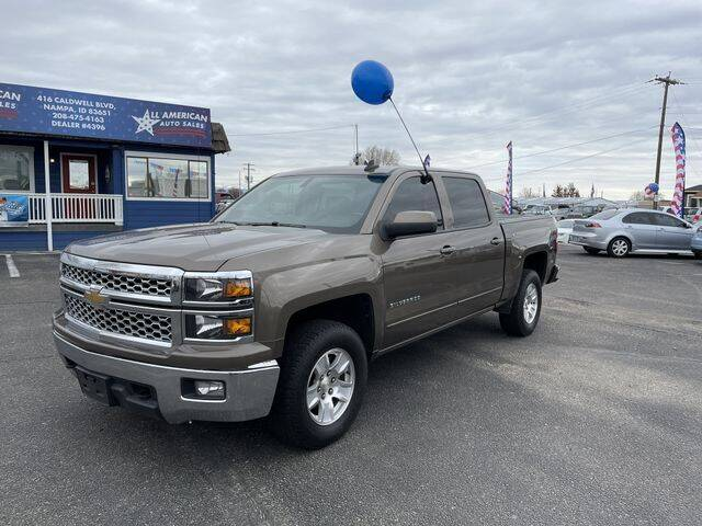 2015 Chevrolet Silverado 1500 for sale at All American Auto Sales LLC in Nampa ID