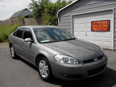 2007 Chevrolet Impala for sale at Marty's Auto Sales in Lenoir City TN