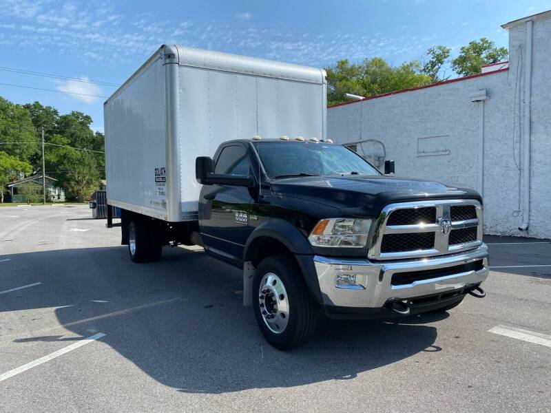 2016 RAM Ram Chassis 5500 for sale at LUXURY AUTO MALL in Tampa FL