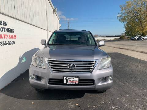 2011 Lexus LX 570 for sale at HANSEN BROTHERS AUTO SALES in Milwaukee WI