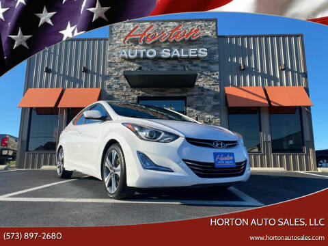 2015 Hyundai Elantra for sale at HORTON AUTO SALES, LLC in Linn MO