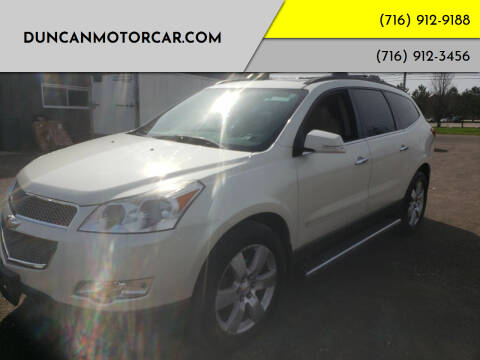 2012 Chevrolet Traverse for sale at DuncanMotorcar.com in Buffalo NY
