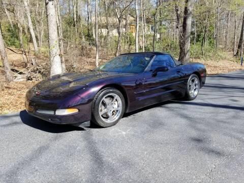 1999 Chevrolet Corvette for sale at US 1 Auto Sales in Graniteville SC