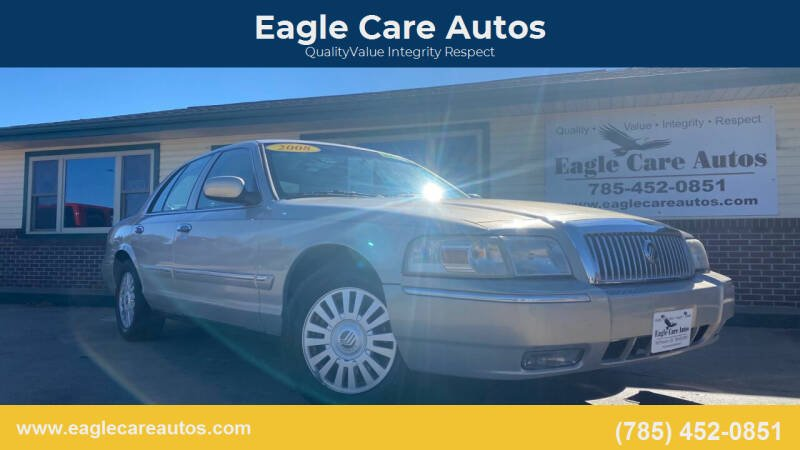 2008 Mercury Grand Marquis for sale at Eagle Care Autos in Mcpherson KS