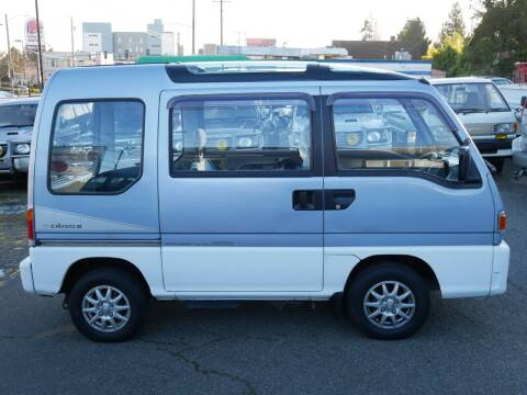 1992 Subaru Sambar 4WD MT5 for sale at JDM Car & Motorcycle LLC in Seattle WA