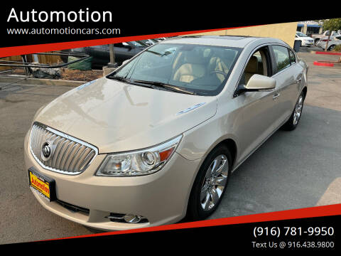 2010 Buick LaCrosse for sale at Automotion in Roseville CA