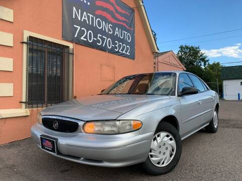 2003 Buick Century for sale at Nations Auto Inc. II in Denver CO