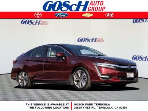 2018 Honda Clarity Plug-In Hybrid for sale at BILLY D SELLS CARS! in Temecula CA