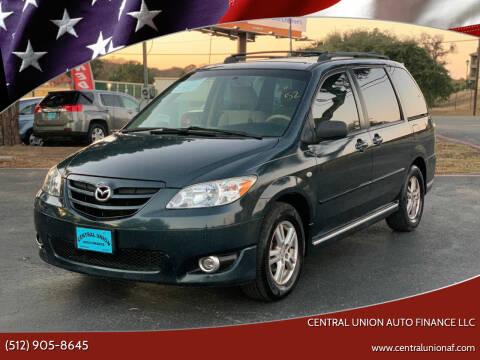 2005 Mazda MPV for sale at Central Union Auto Finance LLC in Austin TX