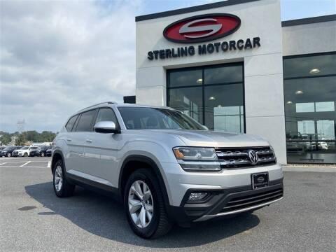2018 Volkswagen Atlas for sale at Sterling Motorcar in Ephrata PA
