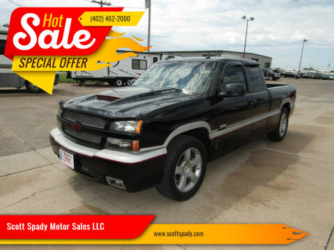 2003 Chevrolet Silverado 1500 SS for sale at Scott Spady Motor Sales LLC in Hastings NE