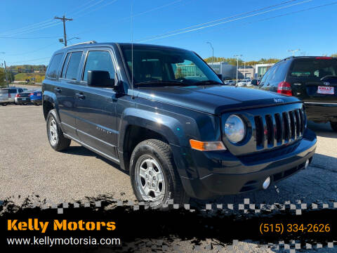 2016 Jeep Patriot for sale at Kelly Motors in Johnston IA