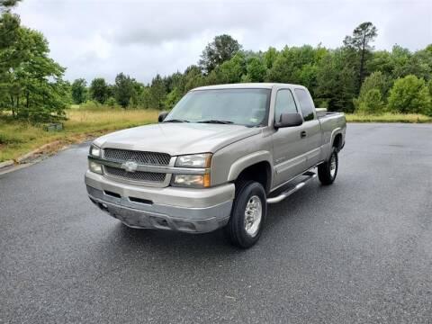 2003 Chevrolet Silverado 2500HD for sale at Apex Autos Inc. in Fredericksburg VA
