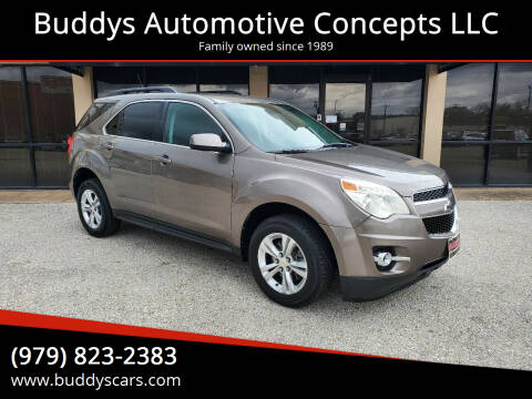 2012 Chevrolet Equinox for sale at Buddys Automotive Concepts LLC in Bryan TX