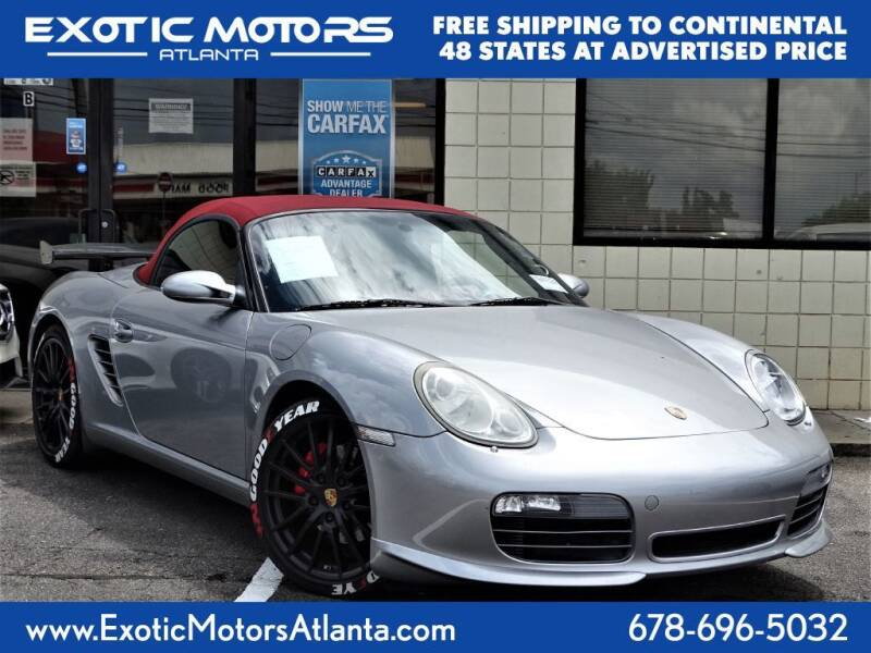 2008 Porsche Boxster for sale in Gainesville, GA