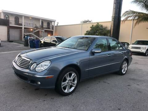 2005 Mercedes-Benz E-Class for sale at Florida Cool Cars in Fort Lauderdale FL