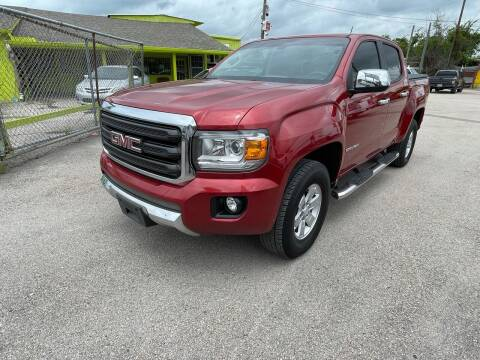 2016 GMC Canyon for sale at RODRIGUEZ MOTORS CO. in Houston TX
