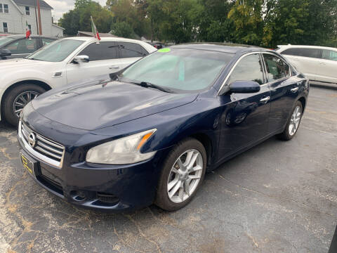 2014 Nissan Maxima for sale at PAPERLAND MOTORS - Fresh Inventory in Green Bay WI