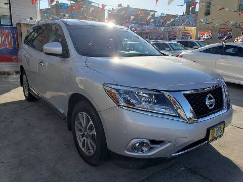 2014 Nissan Pathfinder for sale at Elite Automall Inc in Ridgewood NY