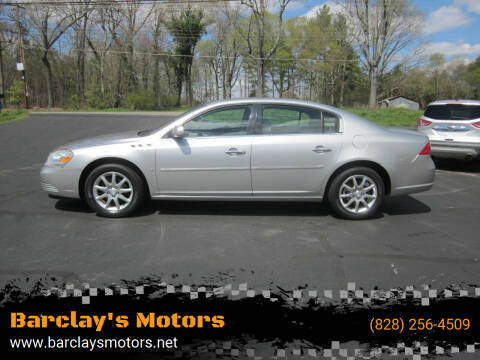 2008 Buick Lucerne for sale at Barclay's Motors in Conover NC