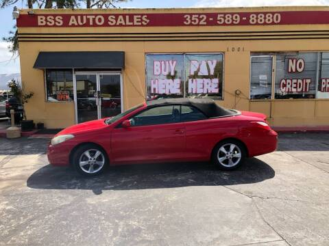 2008 Toyota Camry Solara for sale at BSS AUTO SALES INC in Eustis FL