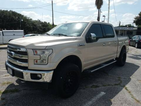 2017 Ford F-150 for sale at RICKY'S AUTOPLEX in San Antonio TX
