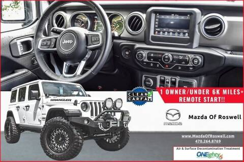 2018 Jeep Wrangler Unlimited for sale at Mazda Of Roswell in Roswell GA