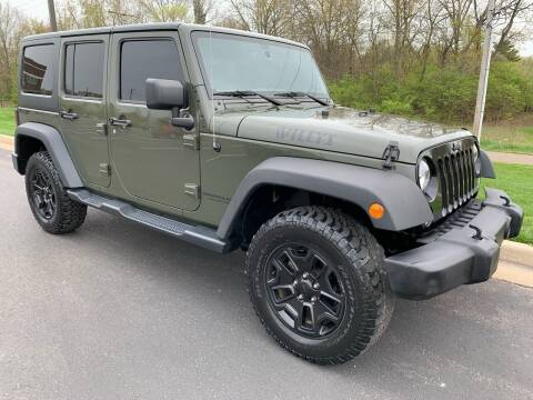 2015 Jeep Wrangler Unlimited for sale at Encore Auto in Niles MI