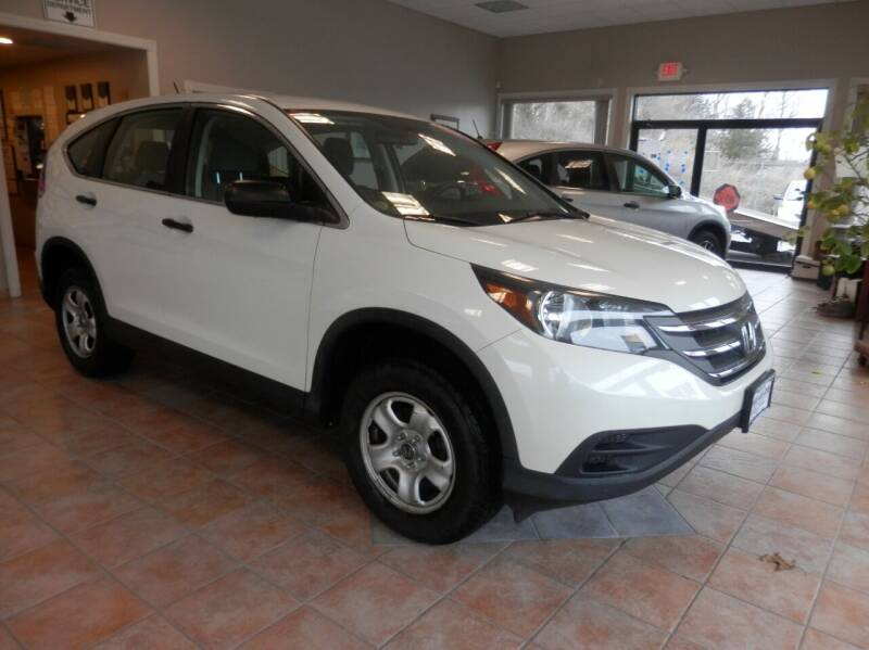 2013 Honda CR-V for sale at ABSOLUTE AUTO CENTER in Berlin CT