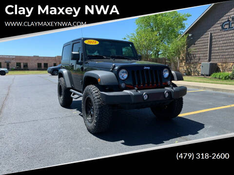 2018 Jeep Wrangler JK for sale at Clay Maxey NWA in Springdale AR
