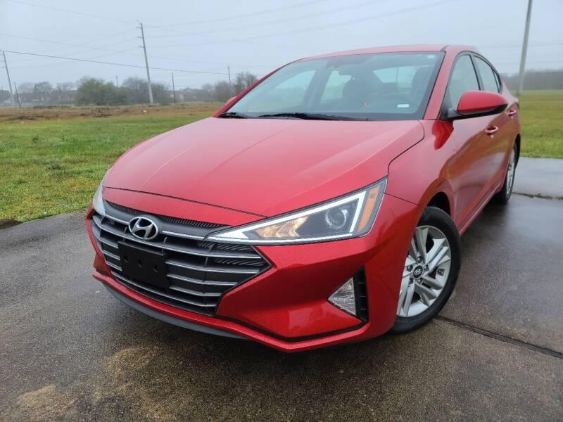 2020 Hyundai Elantra for sale at Laguna Niguel in Rosenberg TX
