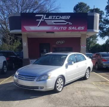 2007 Toyota Avalon for sale at Fletcher Auto Sales in Augusta GA