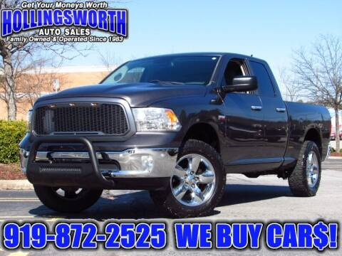 2014 RAM Ram Pickup 1500 for sale at Hollingsworth Auto Sales in Raleigh NC