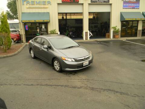 2012 Honda Civic for sale at PREMIER MOTORSPORTS in Vancouver WA