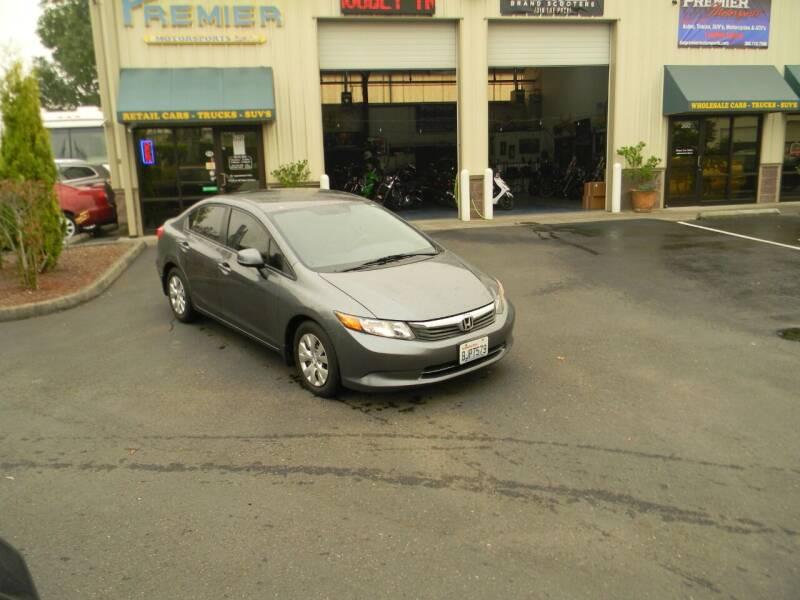 2012 Honda Civic for sale at PREMIER MOTORSPORTS in Vancouver WA