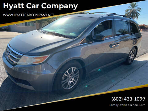 2012 Honda Odyssey for sale at Hyatt Car Company in Phoenix AZ