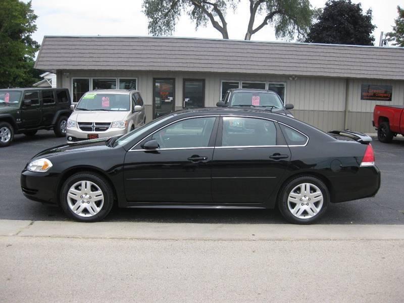 2013 Chevrolet Impala for sale at Greens Motor Company in Forreston IL