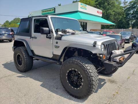 2012 Jeep Wrangler for sale at Action Auto Specialist in Norfolk VA