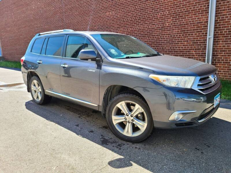 2011 Toyota Highlander for sale at Minnesota Auto Sales in Golden Valley MN