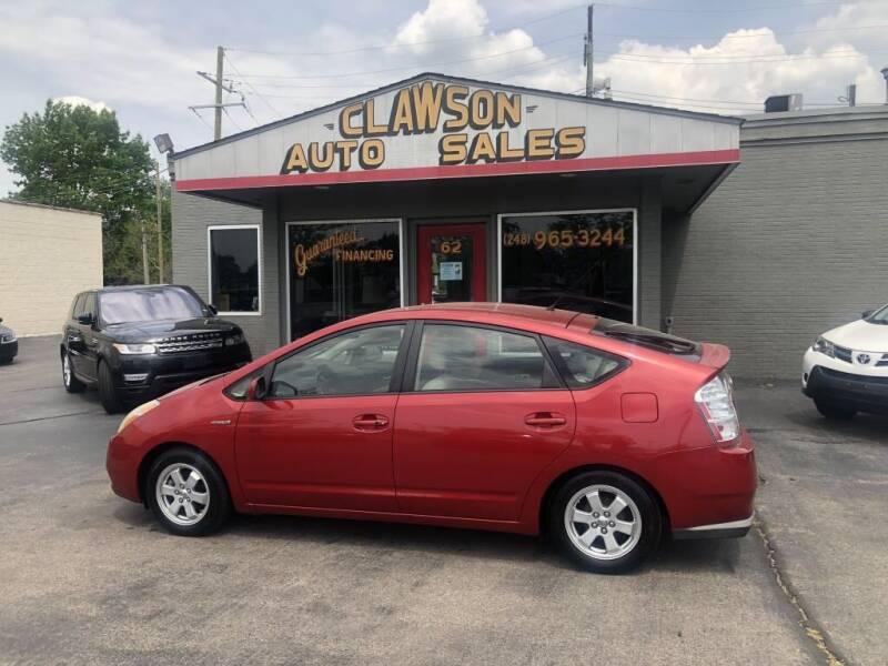 2008 Toyota Prius for sale at Clawson Auto Sales in Clawson MI