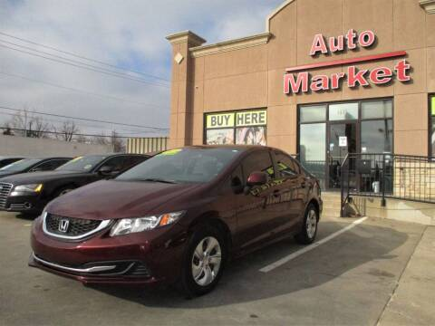 2013 Honda Civic for sale at Auto Market in Oklahoma City OK