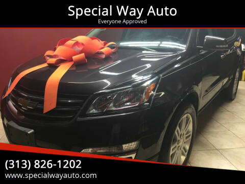 2015 Chevrolet Traverse for sale at Special Way Auto in Hamtramck MI